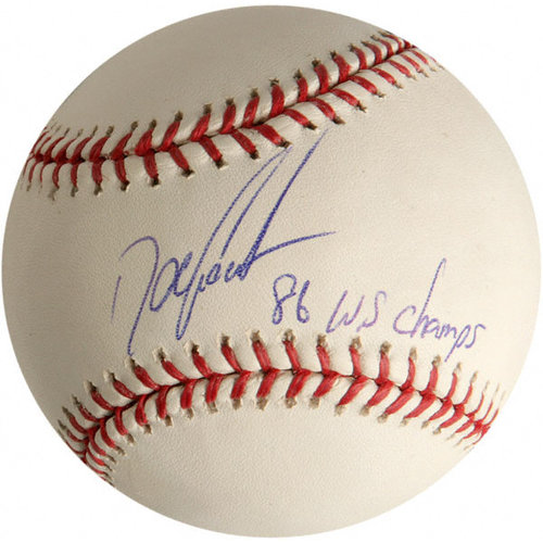 """MLB - Doc Gooden New York Mets Autographed Baseball with Inscription """"86 WS Champs"""""""