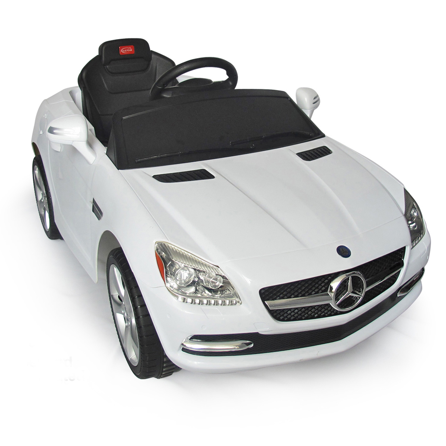 Soozier Aosom Mercedes-Benz SLK Kids 6V Battery Powered Car