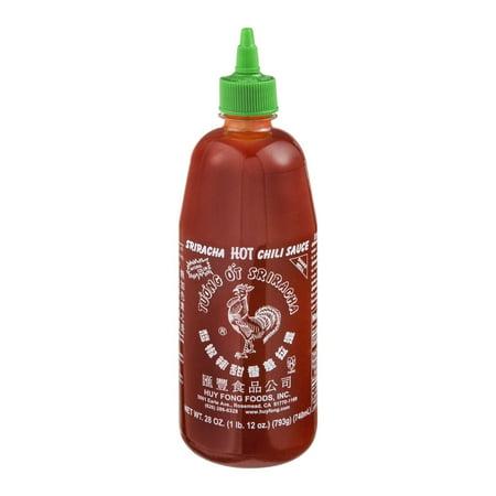 (2 Pack) Huy Fong Foods Sriracha Hot Chili Sauce, 28