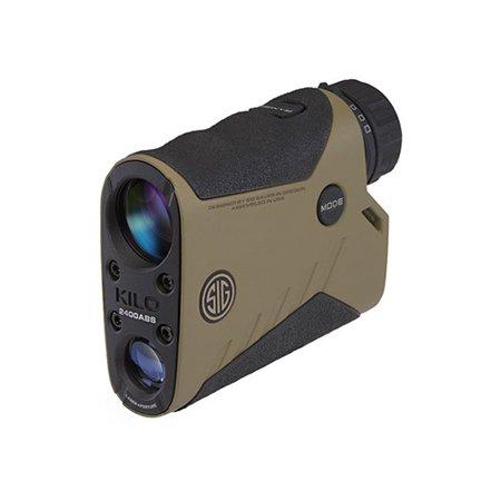 Sig Sauer KILO2400ABS 7x25mm Applied Ballistics System Digital Laser Rangefinder -