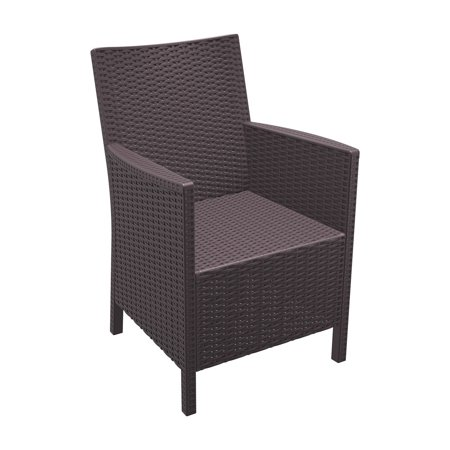 Siesta California Resin Wicker Chair - Set of 2 ()