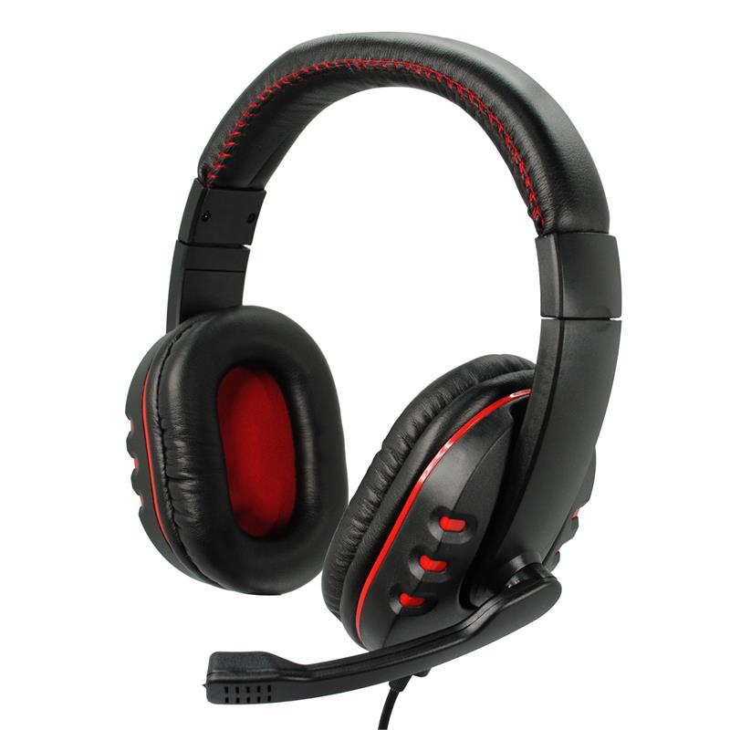 Inland Products Stereo Gaming Headset for PC and MP3 Players, 87015