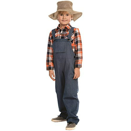 Dress Up America Farmer Costume - Size Large (12-14) for $<!---->