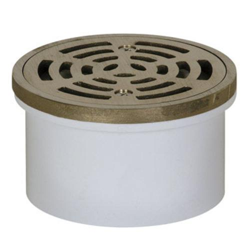 Sioux Chief 3 or 4 in. Dia. PVC General Purpose Floor Drain by Sioux Chief