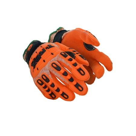 Magid T-REX Cotton Canvas Palm Impact Gloves 2XL, Pair - Walmart.com