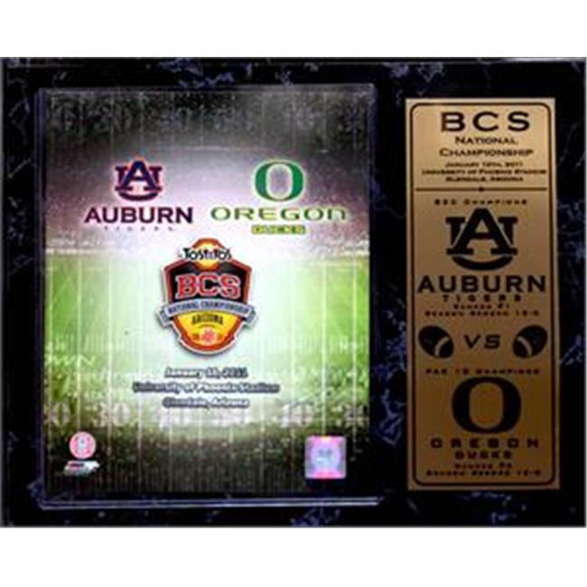 Encore Select 520-CFBBCS2011 2011 BCS National Championship 12x15 Plaque