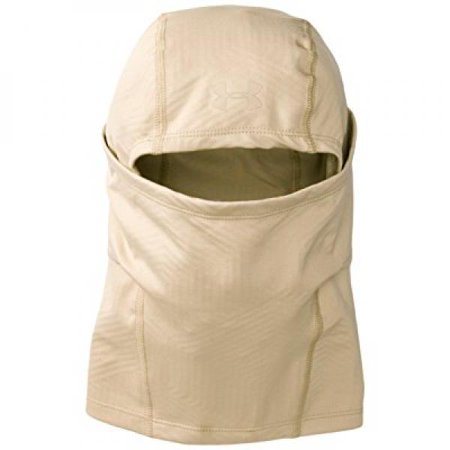 Under Armour Men's ColdGear Infrared Tactical Hood, Desert Sand/Desert Sand, One Size (Tactical Under Armour)