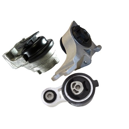 Sable Mercury Driver (For Ford Flex Lincoln MKS Mercury Sable 5425 5342 5429 Engine Motor & Trans Mount Set 3PCS 08 09 10 11 12)