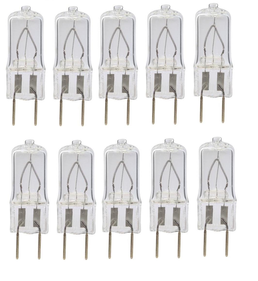 10pack LSE Lighting G8 20 watt Xenon Light Bulb T4 JCD 120V 130V 35mm