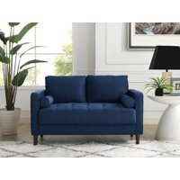 Incredible Blue Loveseats Walmart Com Cjindustries Chair Design For Home Cjindustriesco