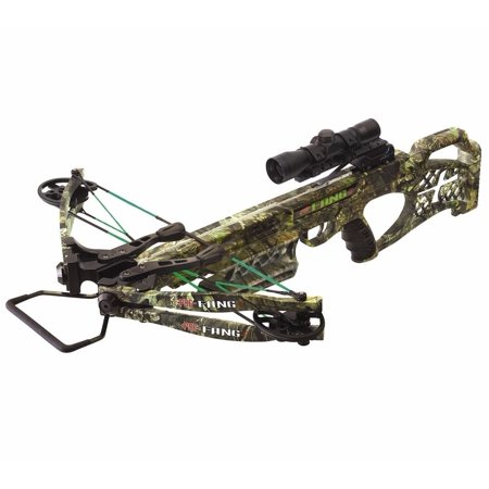 2018 PSE Fang LT 4x32 Scope Crossbow Package 330 FPS Mossy Oak Country thumbnail
