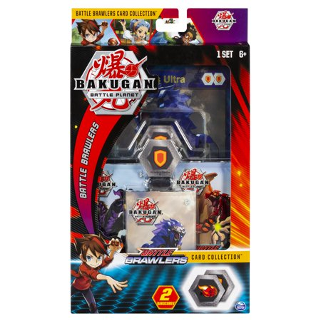 Bakugan, Deluxe Battle Brawlers Card Collection with Jumbo Foil Hydorous Ultra Card, for Ages 6 and