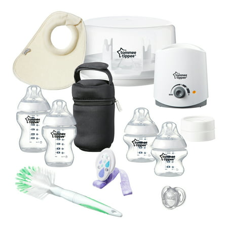 Tommee Tippee Closer to Nature All in One Newborn Baby Feeding Starter Set