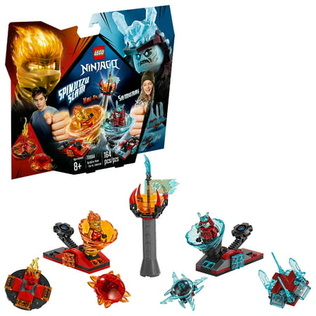 LEGO Ninjago Spinjitzu Slam - Kai vs. Samurai 70684 Ninja Set (164 Pieces) (Ninja Spinjitzu)