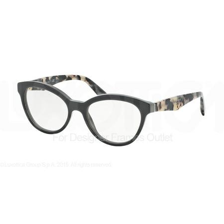 06eab05a58 PRADA Eyeglasses PR 11RV TFN1O1 Opal Grey 52MM - Walmart.com