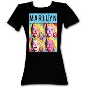 Marilyn Monroe  Warhol Stinx Girls Jr Black