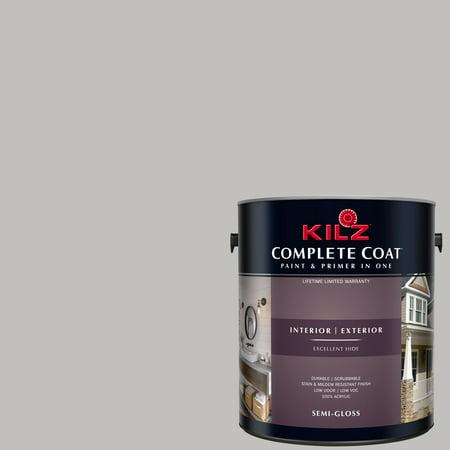 - KILZ COMPLETE COAT Interior/Exterior Paint & Primer in One #RK140 Sugared Bronze