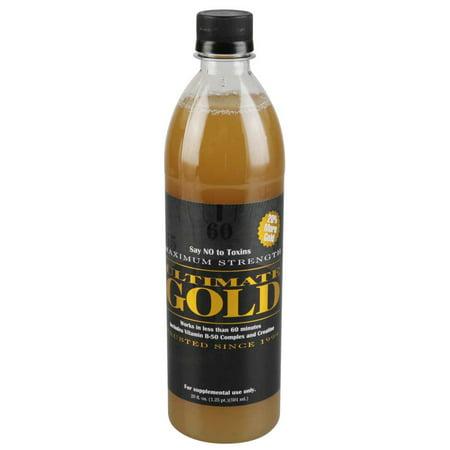 20oz Ultimate Gold Detox Drink