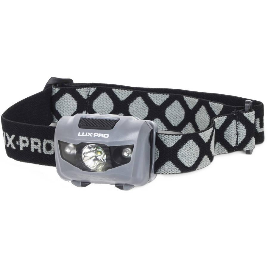 LUXPRO LP330 4-Function Flashlight Headlamp, 130 Lumens