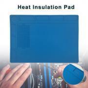Jeobest Anti Static Heat Insulation Silicone Pad Desk Mat For Phone Computer Repair MZ ()