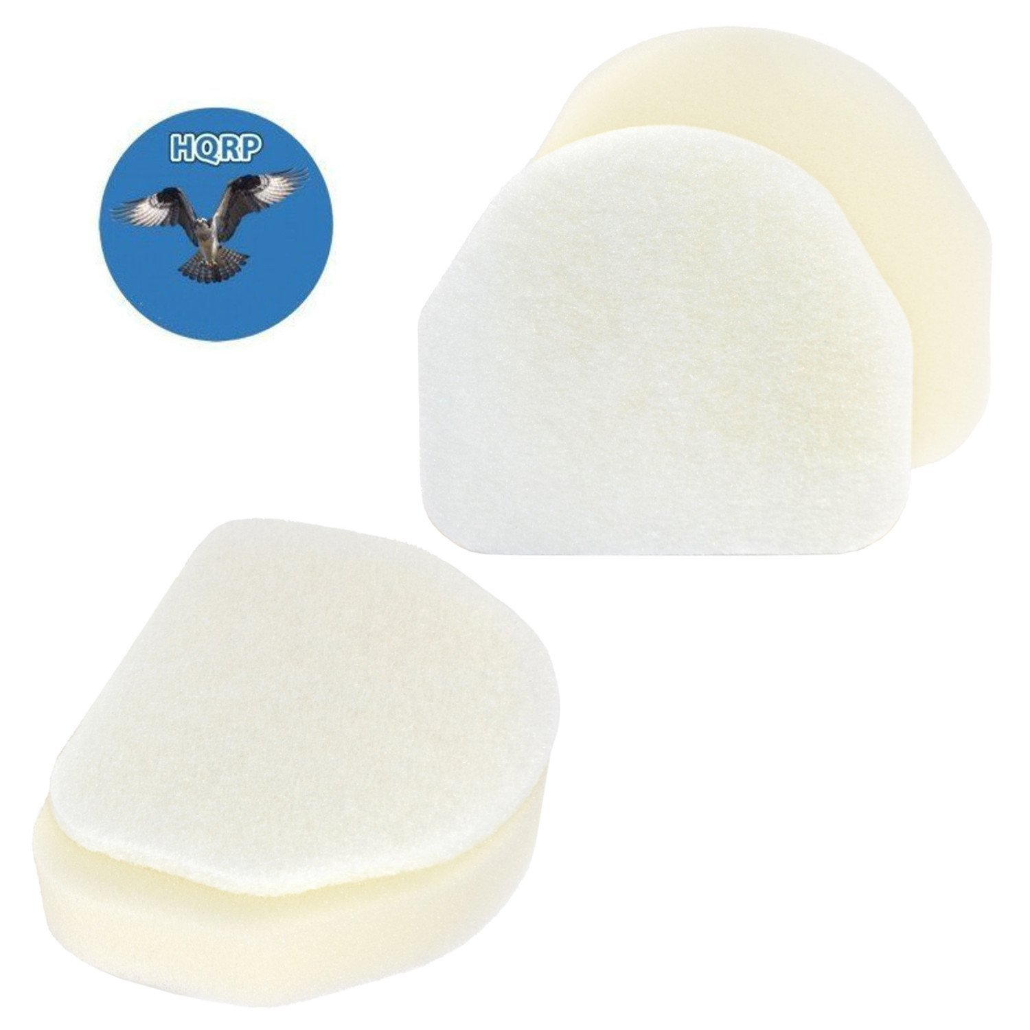 Hqrp 2 Pack Foam Amp Felt Filter Kit For Shark Nv201 Nv202