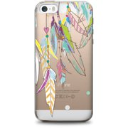 OTM Hipster Prints Clear Phone Case for Apple iPhone 6, Color Dream Catcher