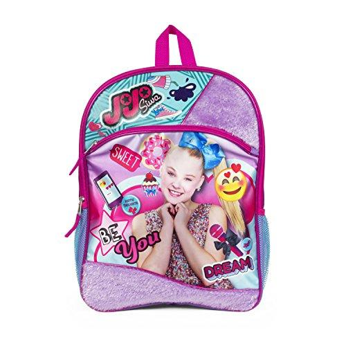 JoJo Siwa Backpack with Purple Fur