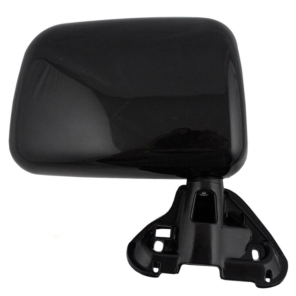 -Black Passenger side WITH install kit 6 inch 100W Halogen 2008 Toyota RAV4 W//O AIR CURTAIN-RHD Post mount spotlight
