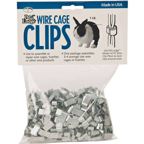 Miller Manufacturing Wire Cage Clips