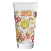 Fresh Fruit Highball Glasses, 16 oz, Set of 4