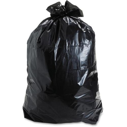 """Stout Insect Repellent Trash Bag - 30 gal - 33"""" Width x 40"""" Length x 2 mil (51 Micron) Thickness - Black - Polyethylene"""