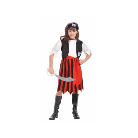 CHCO-PIRATE LASS-SMALL - Pirate Lass Costume