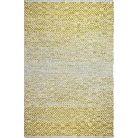 Fab Habitat Reversible Cotton Area Rugs For Living Room Bathroom Rug Kitchen Machine Washable Aurora Gold 8 X 10