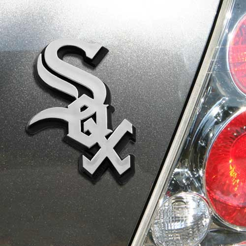 MLB Chicago White Sox Chrome Automobile Emblem