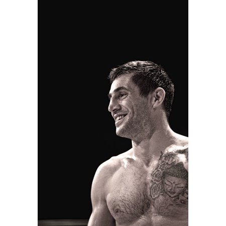 Boxing Fighter - Canvas Print Man Boxer Manly Boxing Fighter Guy Tattoo Male Stretched Canvas 10 x 14