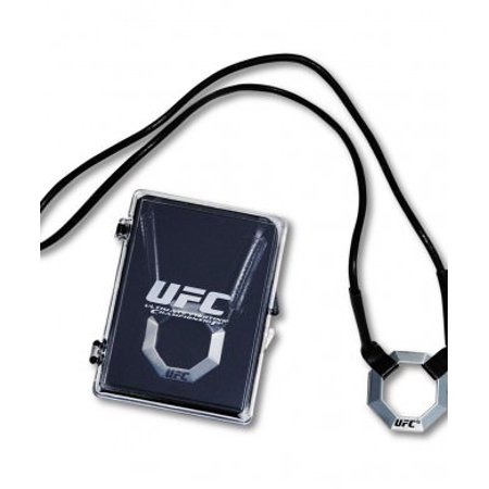 UFC Officially Licensed Pewter Pendant Necklace (Plastic - Traditional Fine Pewter Pendant