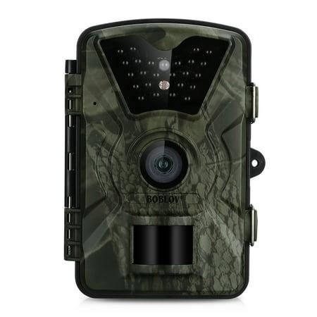 BOBLOV TC03 IR Trail Camera Huntting Camera Outdoor Hunting Video Camera 12MP 2.4