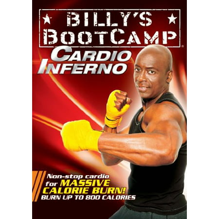 10 Minute Boot Camp Cardio Inferno (DVD) (30 Minute Cardio Workout At Home No Equipment)