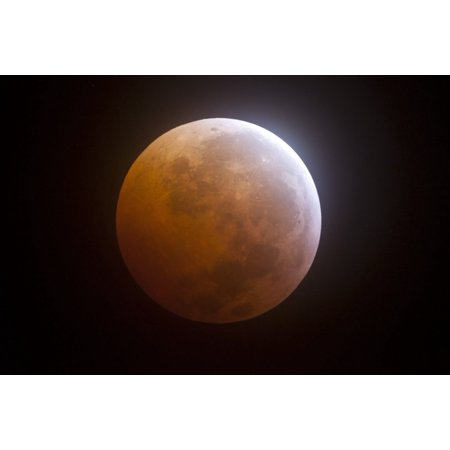 Lunar Eclipse Canvas Art   Phillip Jonesstocktrek Images  34 X 23