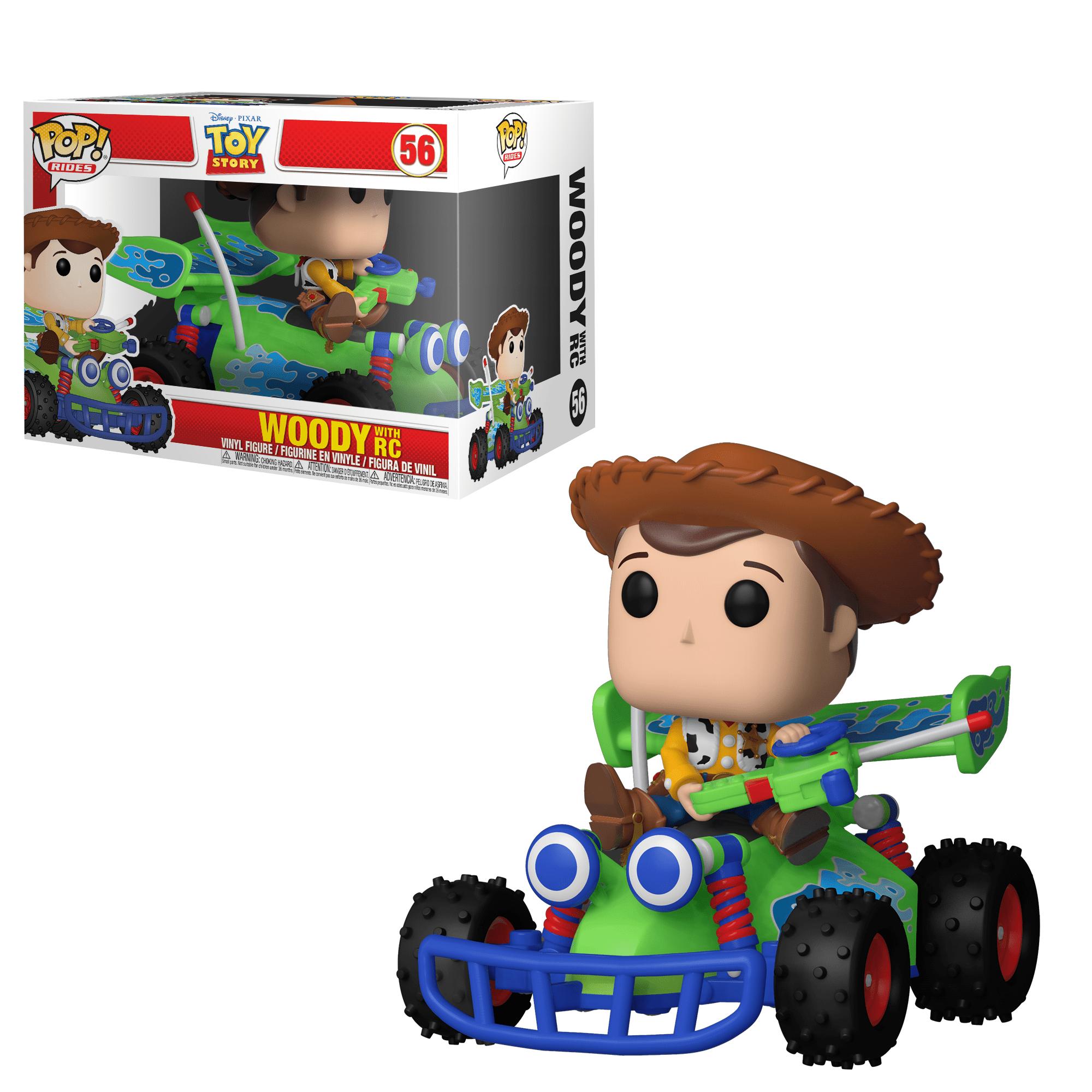 Funko POP! Ride: Toy Story - Woody w/ RC