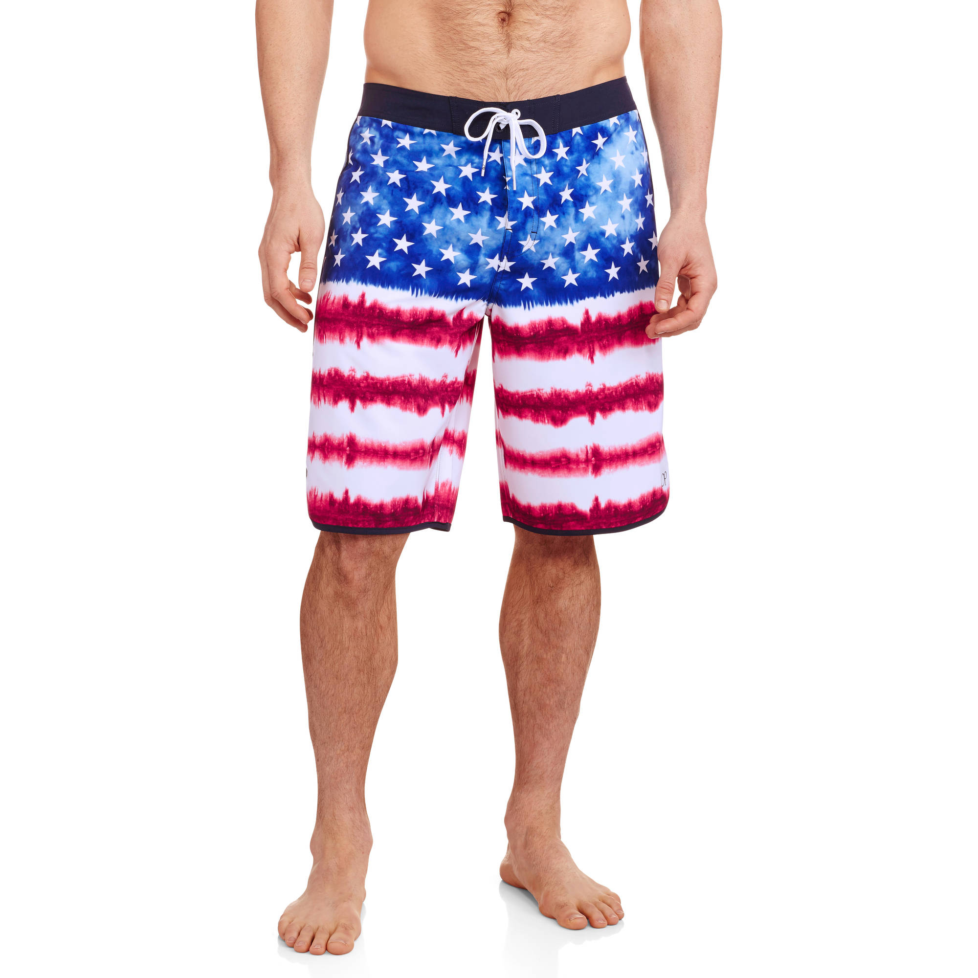 Op Flag Men's Fixed Waist Board Short