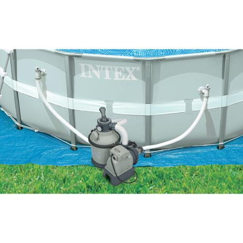 Intex 1200 GPH Krystal Clear Sand Pool Filter Pump Set 110-120 Volt  | 28643EG