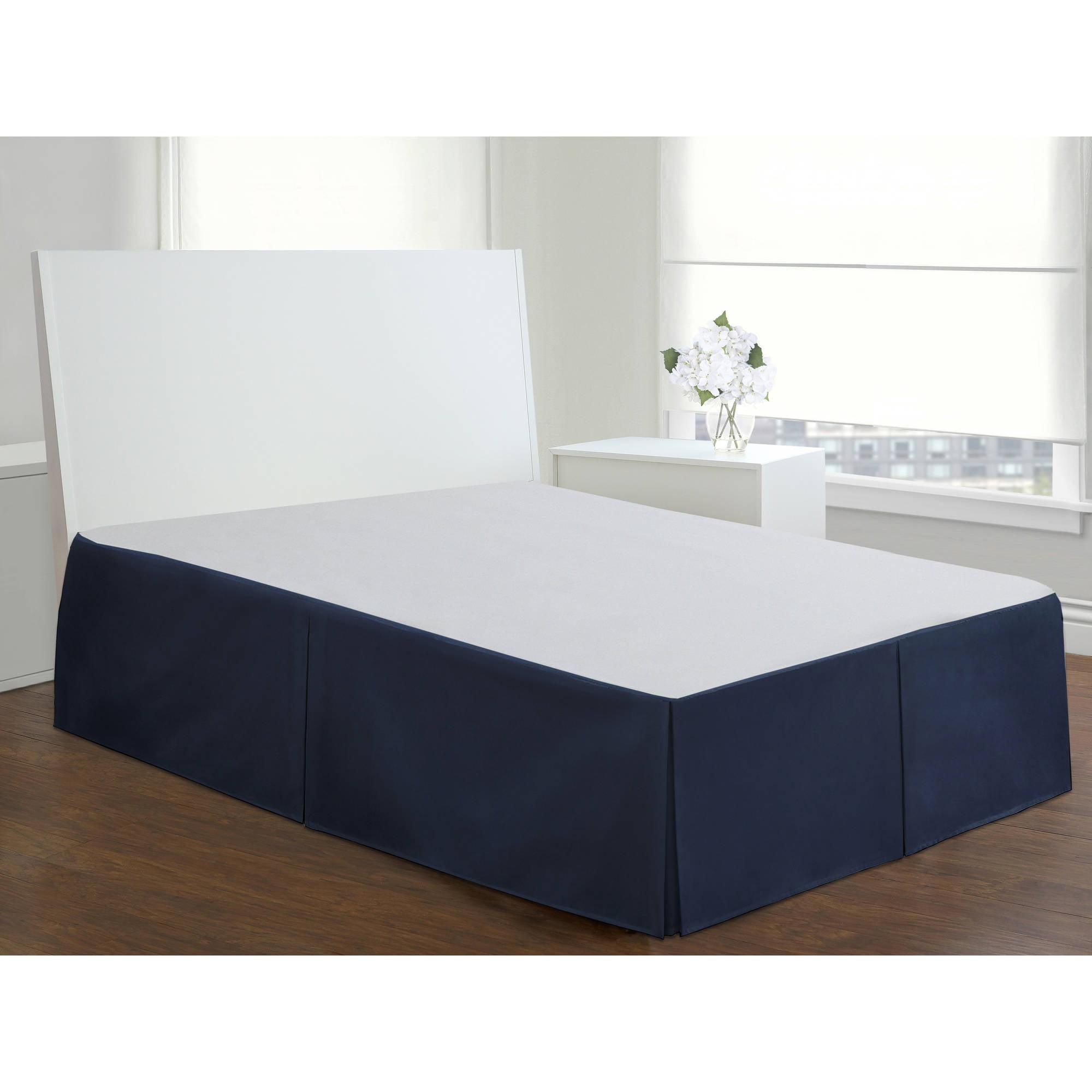 Levinsohn Tailored Poplin Bedding Bed Skirt Walmartcom