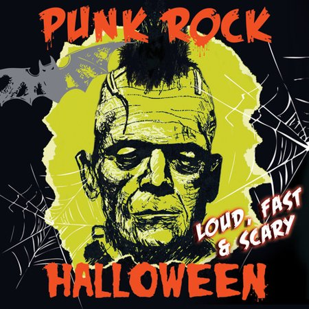 Punk Rock Halloween - Loud Fast & Scary! (Vinyl)