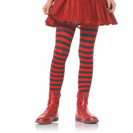 Leg Avenue Stripe Tights Child Halloween Accessory - Halloween Striped Tights