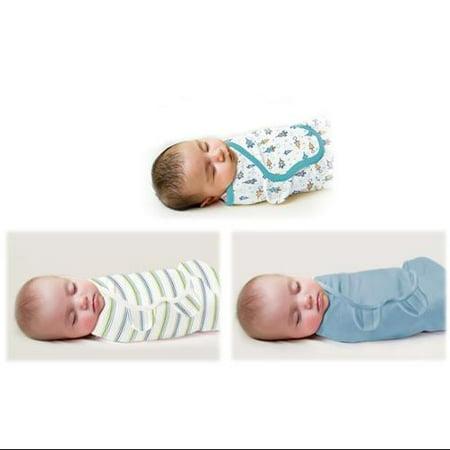 Summer Infant SwaddleMe Cotton Knit Large 3-Pack - Superstar