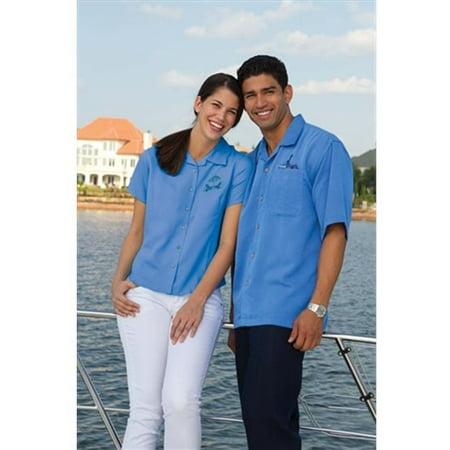3001 Ladies Camp Shirt Bedford Cord, Mango, (Ladies Cord Camp Shirt)