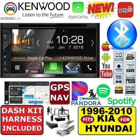 KENWOOD BLUETOOTH GPS NAVIGATION SYSTEM APPLE CARPLAY ANDROID AUTO CAR RADIO (Gps Kenwood)