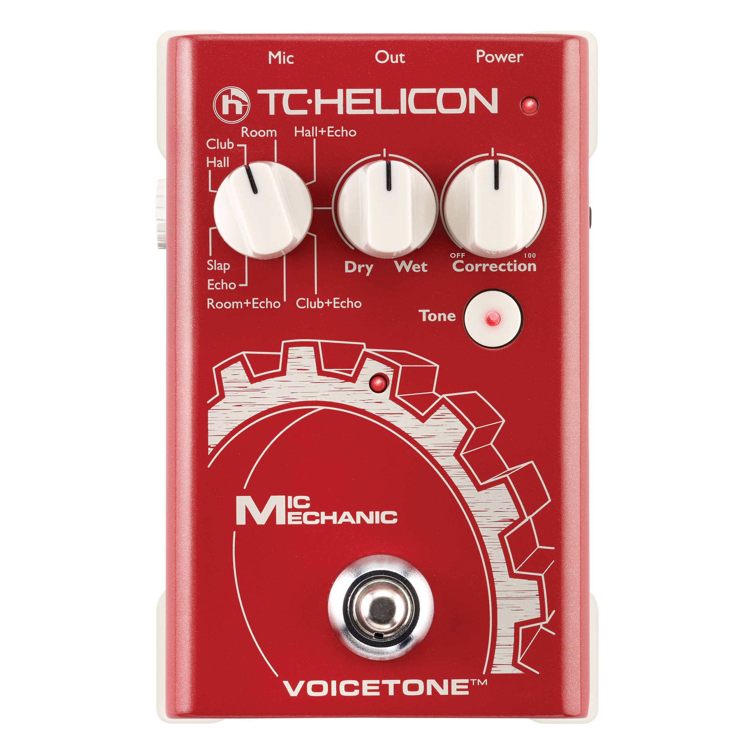 TC Helicon Mic Mechanic Vocal Processor Pedal by TC Helicon
