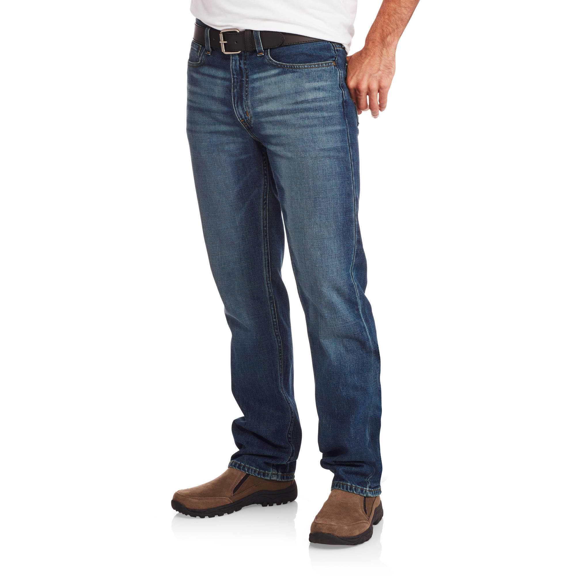 Faded Glory Men's Straight Fit Jeans - Walmart.com